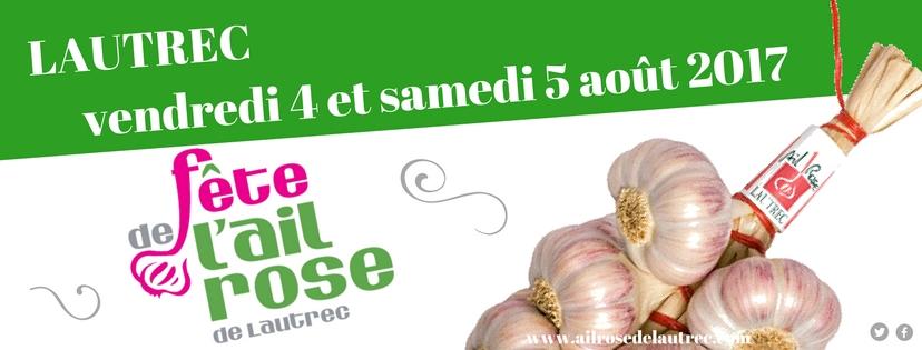 Fête de l'Ail Rose, du Pain et du Goût à Lautrec