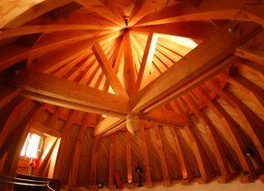 Chambre insolite dans la Tour de guet avec vue sur le Pays de Cocagne