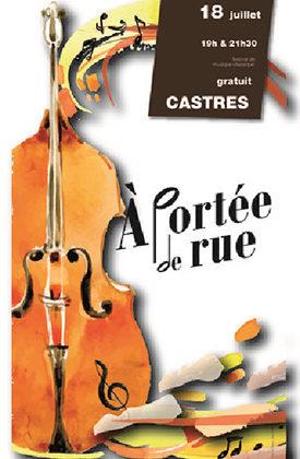 Festival de musique classique « à portée de rue » 1