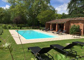 piscine Domaine du Buc chambres d'hotes de charme Albi TarnDomaine du Buc 1