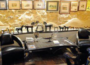 chambre et table d'hôtes de charme. Salon détente et collections