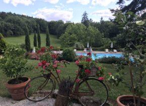 terrasse du domaine Le Castelet